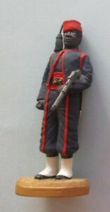 Soldiers of the Queen painted pewter figure - Gold Coast Hausas