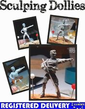 Flexible Metal Armatures in 28 mm - Craft Modelling Artist Figure - 1:50 scale