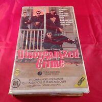 VHS Tape Disorganized Crime Clamshell