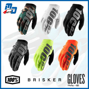 100% Brisker Warm Winter MX Motocross MTB Gloves Cold Weather Thermal