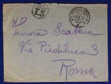 Ufficio Postale Speciale 2  10.3.1937  #XP167B