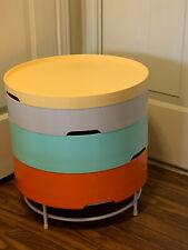IKEA PS 2014 Multi-Color 4-tier Storage Table Ottoman