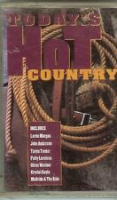 TODAY'S HOT COUNTRY - VARIOUS ARTISTS - CASSETTE - NEW
