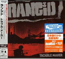 RANCID-TROUBLE MAKER-JAPAN CD BONUS TRACK F45