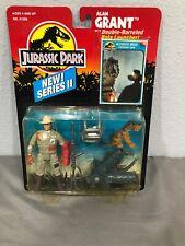 Jurassic Park JP Series 2 Alan Grant w/ Net trap, Smart Bomb & Hatchling