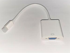 Adapter Video Minidisplayport For VGA Female For Macbook Air/Pro