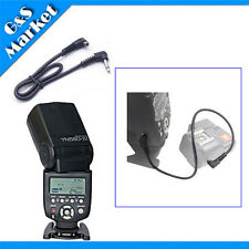 """Yongnuo YN560-III Flash light+12"""" 12 inch 2.5mm to Male FLASH PC Sync Cable Cord"""