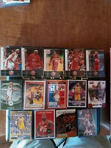 LeBron James 20 Card Lot Must See Will Sell Lakers Cavaliers