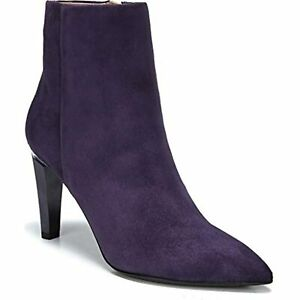 Franco Sarto Women's A- Sheona Bootie, Dark Plum Suede, 8 M