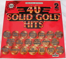 40 SOLID GOLD HITS - VARIOUS ARTISTS - Pickwick PLD 8005 34