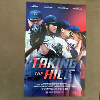Chicago Cubs Poster Taking The Hill Darvish Hendricks 2020 Cubs Convention 11x17