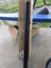 """4-Pack 28"""" Height Black Metal Desk Legs"""
