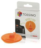 Bosch Tassimo Coffee Maker TAS5542GB ORANGE Descaler Service T-Disc 00576837