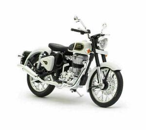 New Royal Enfield Classic 350 1:12 Scale Model, Ash Bike Miniature/Scale Model