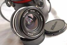 Nikon Nikkor 20 mm f/4, Non-Ai, MF, bon état