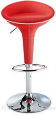 Taburetes y barras de color principal rojo para la cocina