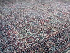 Rare! 9X12- Antique Wilton Isfahan Wool Rug-Arts & Crafts carpet motif by Downs