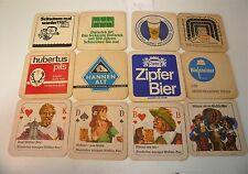 Lot de 12 Sous-bocks anciens allemands, tbe - bcc2