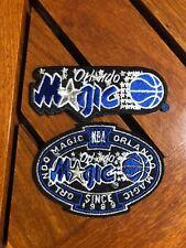 NBA (2) LOT ORLANDO MAGIC PATCHES