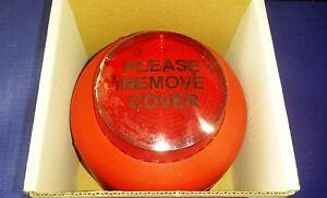Fire Alarm Xenon Beacon With Red Lens Vantage VXB-1 Weatherproof - FREE UK P&P !