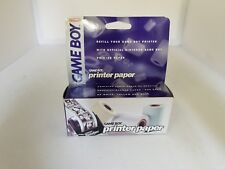 NEW OFFICIAL NINTENDO 3 PACK OF PAPER FOR THE GAME BOY PRINTER 540 PICTURES  L11