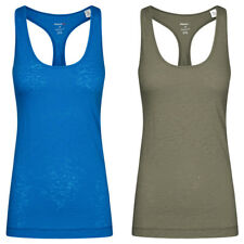 Reebok Global Blank Damen Fitness Tank Top Sport Training Yoga Jogging T-Shirt