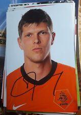 Signiertes Foto Klaas Jan Huntelaar Ajax Amsterdam  NEU Niederlande