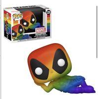 *Read Preorder June/July Funko Pop!* Deadpool Pride Rainbow Figure PREORDER
