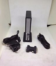 Kensington MD1066 DisplayLINK Station BUNDLE W/CHARGER/USB CORD/VGA used