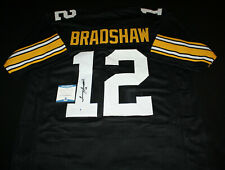 Terry Bradshaw signed jersey, Pittsburgh Steelers, Bulldogs, Beckett BAS