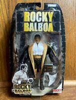 Rocky Balboa Movie Action Figure 2006 Jakks NIB New Sealed Sylvester Stallone