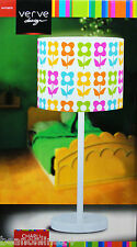 Beautiful Flower Pattern Table Lamp - 240V E14 Max 40W