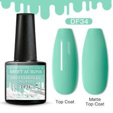 Meet Across Christmas Uv Gel Nail Polish Soak Off Manicure Light Green Gel 6ml