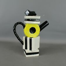 Vintage PAUL CARDEW Liquorice Allsorts Coffee Pot 28cm Tall - BLY