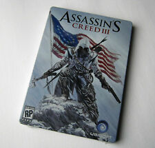 Assassins Creed III Steelbook Limited Promo Pre-order Case Ubisoft (Case Only)