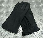 3 Dart Gloves Black Matt Leather with 3M Thinsulate Soft Lining SZ Medium RST11