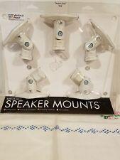 Vantage Point Speaker Mounts White New SATS05-W (I12)