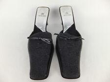 AIGNER extravagante Echtleder Pumps - 37,5 - schwarz - Sandalette Mules Sabot