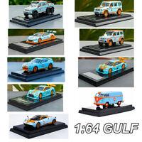 1:64 GULF G500 4X4 G63 6X6 GT500 NISSAN GTR Pagani Diecast Model Car Collection