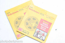 (2) Kodak Prepaid Processing Mailer PK59 Kodachrome Ektachrome 8mm VINTAGE B86A