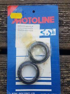 Motorcycle Motoline Fork Oil Seals X2 Pair - 33x44x8.9