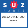 08322-01147-000 Suzuki Washer 0832201147000, New Genuine OEM Part