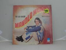 Manolo Munoz / Te Lo Dije Pasares Gas Records 4164 estereo America in shrink EX!