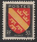 FRANCE TIMBRE NEUF N° 756 ** ARMOIRIES ALSACE