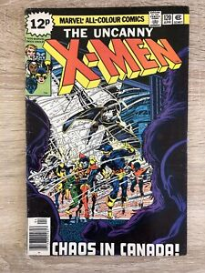 X-Men 120, 1st Alpha Flight In Cameo, Key Book. VG/F