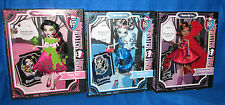 MONSTER HIGH SCARY TALES STORY SCARILY EVER AFTER FRANKIE DRACULAURA CLAWDEEN