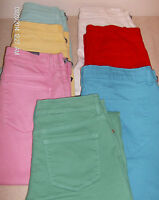 NYDJ Not Your Daughters Jeans Cropped Pants Various Colors/Sizes NWT Stretch