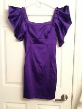 TED BAKER Designer dress, NWT, purple, Size 2, A $245 value