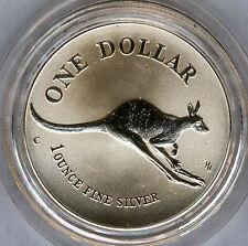 Australia 1994 1 dolar 1 onza plata pura CANGURO