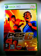PES 6 PRO EVOLUTION SOCCER 6 XBOX360 FIRST RELEASE SEALED  SIGILLATO